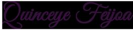 quinceye feijoa lettering